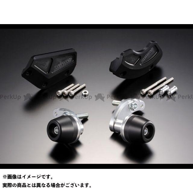 アグラス YZF-R6 レーシングスライダー 4点SET カラー:ジュラコン/ホワイト タイプ:ロゴ無 AGRAS