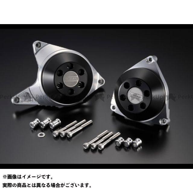 アグラス YZF-R1 レーシングスライダー ケースカバーSET A カラー:ジュラコン/ブラック AGRAS