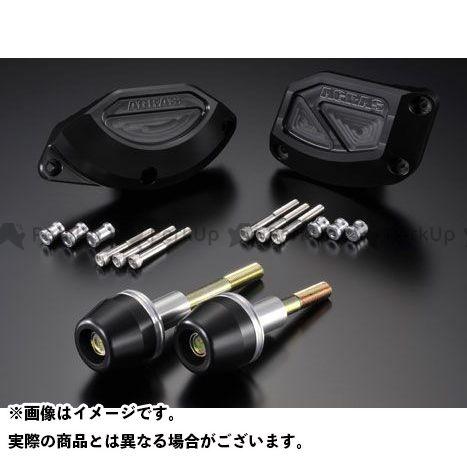 アグラス YZF-R1 レーシングスライダー 4点SET B カラー:ジュラコン/ホワイト タイプ:ロゴ無 AGRAS