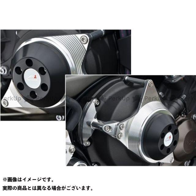 アグラス MT-09 レーシングスライダー 2点セット ジュラコン/ブラック AGRAS