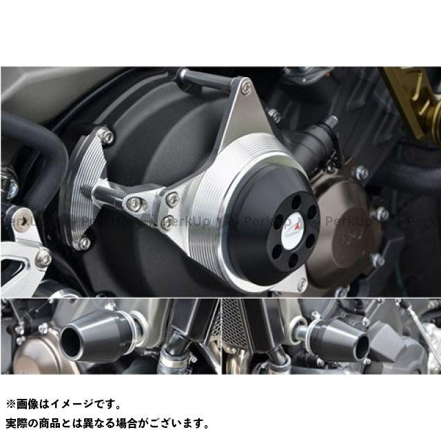 アグラス MT-09 レーシングスライダー 3点セット フレームφ60+クラッチ カラー:ジュラコン/ホワイト AGRAS