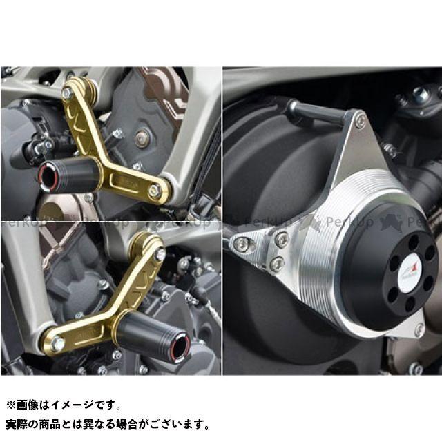 アグラス MT-09 レーシングスライダー 3点セット エンジンハンガーφ50+クラッチ カラー:ジュラコン/ホワイト タイプ:ロゴ無 AGRAS