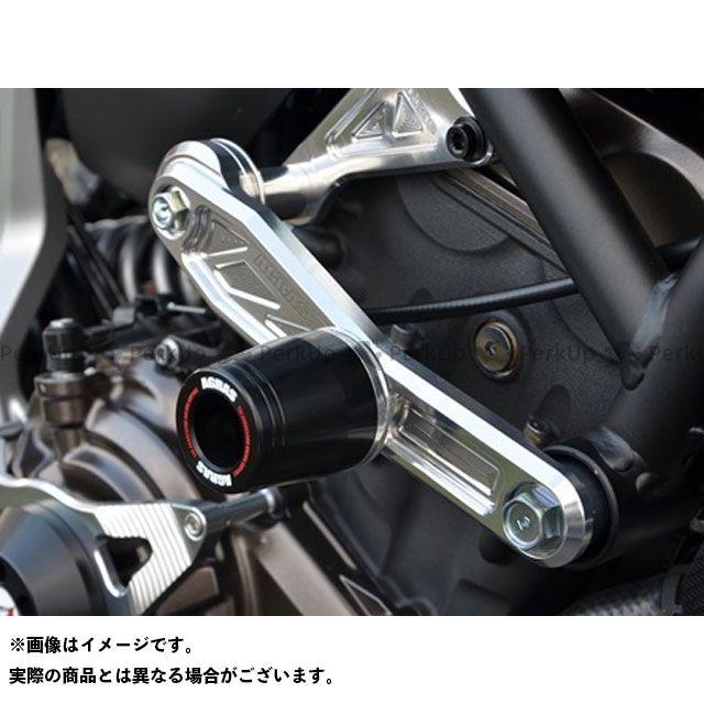 【無料雑誌付き】アグラス MT-07 レーシングスライダー サブフレーム φ50 カラー:ジュラコン/ホワイト タイプ:ロゴ有 AGRAS
