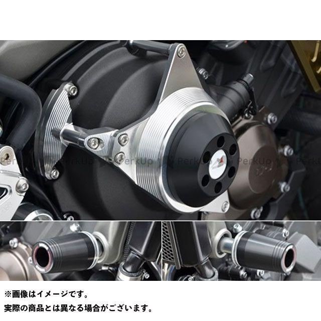 アグラス MT-07 スライダー類 レーシングスライダー 3点セット フレームφ50+クラッチ ジュラコン/ホワイト ロゴ有