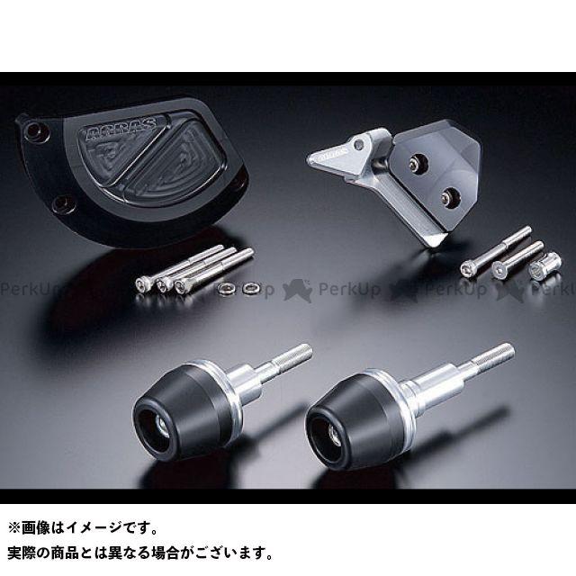 アグラス GSX-R1000 スライダー類 レーシングスライダー 4点SET B ジュラコン/ホワイト ロゴ無