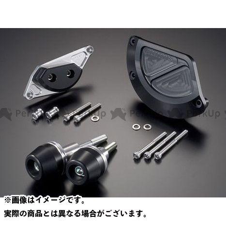 アグラス GSR400 GSR600 レーシングスライダー 4点SET B カラー:ジュラコン/ホワイト タイプ:ロゴ無 AGRAS