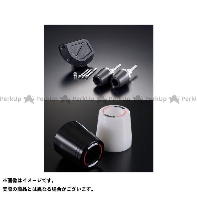 アグラス GSX-R1000 レーシングスライダー 3点SET B カラー:ジュラコン/ブラック タイプ:ロゴ有 AGRAS