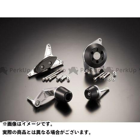 アグラス GSX-R600 レーシングスライダー 4点SET ジュラコン/ブラック ロゴ無 AGRAS