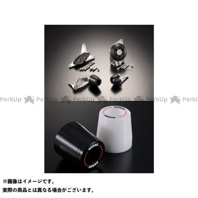 アグラス GSX-R600 レーシングスライダー 4点SET カラー:ジュラコン/ブラック タイプ:ロゴ有 AGRAS