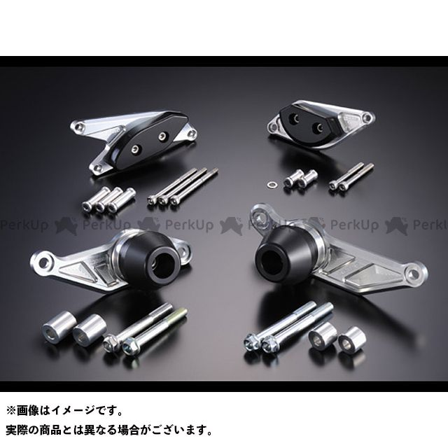 アグラス ビーキング レーシングスライダー 4点SET ジェネA カラー:ジュラコン/ブラック タイプ:ロゴ無 AGRAS