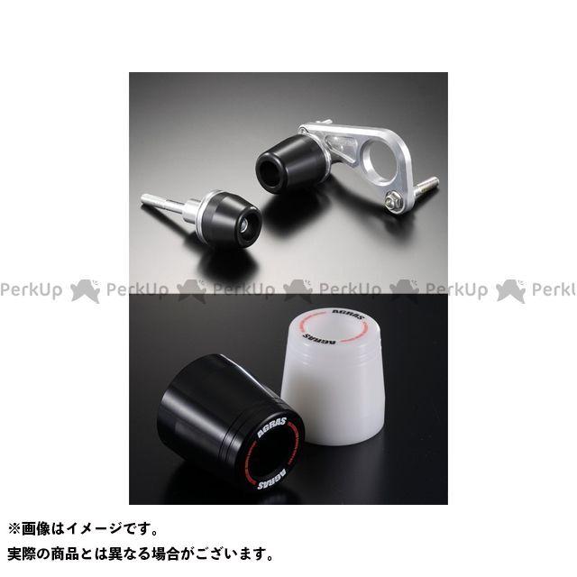 アグラス GSX-R600 スライダー類 レーシングスライダー フレームタイプ ジュラコン/ホワイト ロゴ有