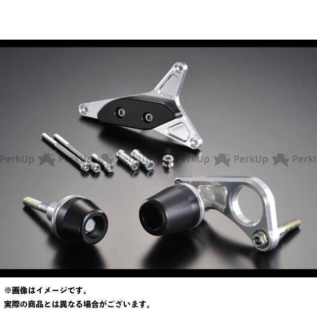 【無料雑誌付き】アグラス GSX-R600 レーシングスライダー 3点SET ジェネレーター カラー:ジュラコン/ブラック タイプ:ロゴ無 AGRAS