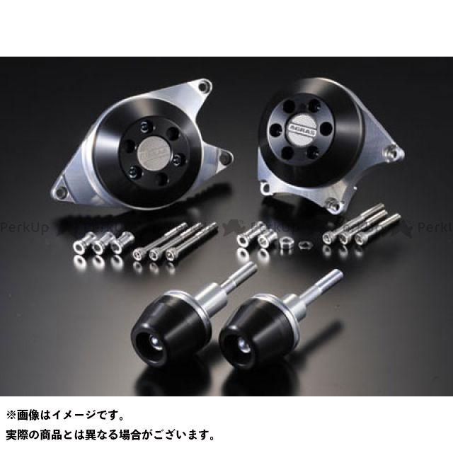 アグラス GSX-R1000 レーシングスライダー 4点SET A カラー:ジュラコン/ブラック タイプ:ロゴ有 AGRAS