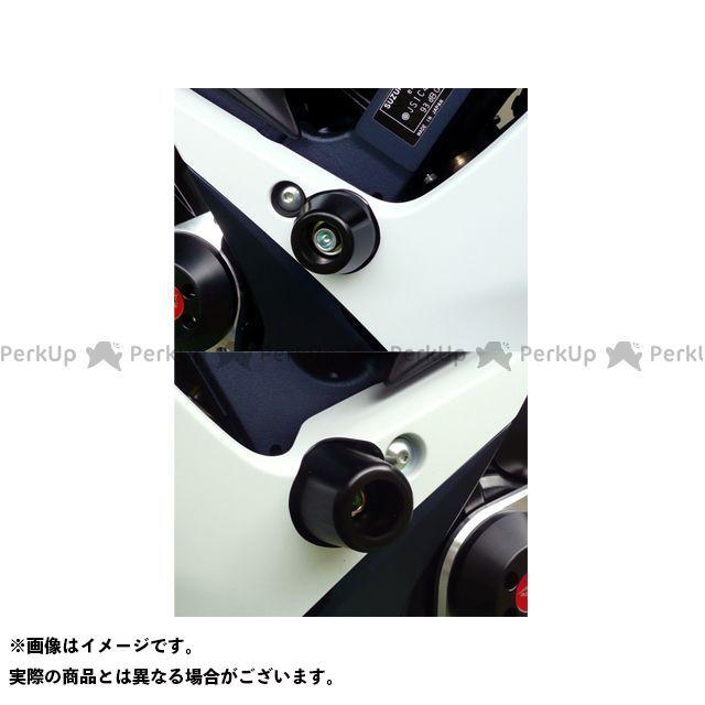 【エントリーで最大P23倍】アグラス GSX-R600 GSX-R750 レーシングスライダー フレーム カラー:ジュラコン/ブラック タイプ:ロゴ無 AGRAS