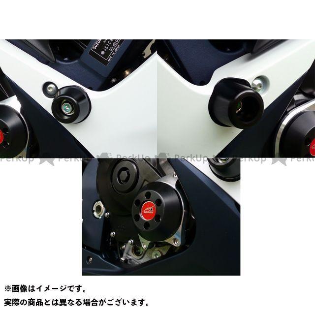 【エントリーで最大P21倍】アグラス GSX-R600 GSX-R750 レーシングスライダー 3点SET クラッチ カラー:ジュラコン/ホワイト タイプ:ロゴ無 AGRAS