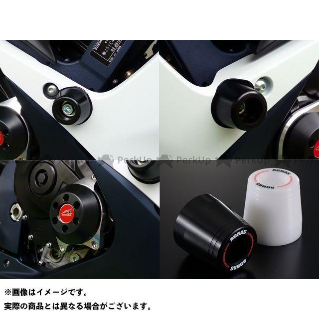 アグラス GSX-R600 GSX-R750 レーシングスライダー 3点SET クラッチ ジュラコン/ブラック ロゴ有 AGRAS