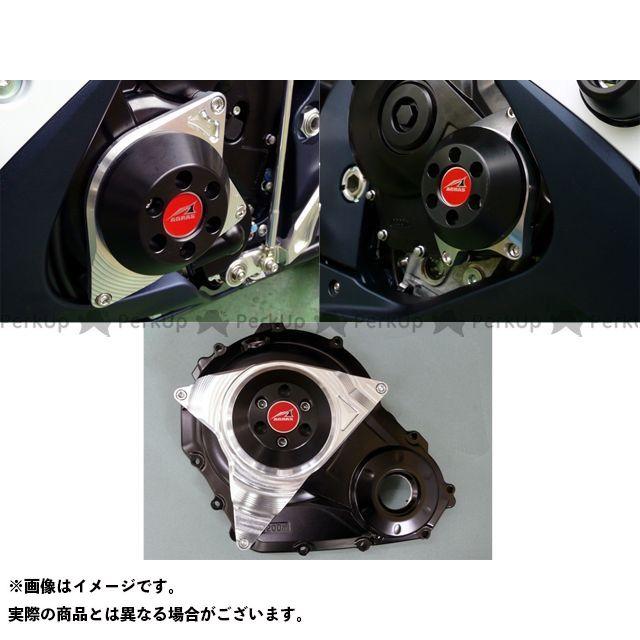 アグラス GSX-R600 GSX-R750 スライダー類 レーシングスライダー ケースカバー 3点SET ジュラコン/ホワイト