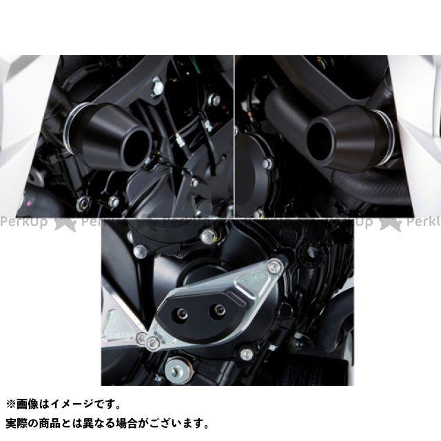 アグラス GSR750 レーシングスライダー 3点SET フレームφ60+スターターA カラー:ジュラコン/ブラック AGRAS