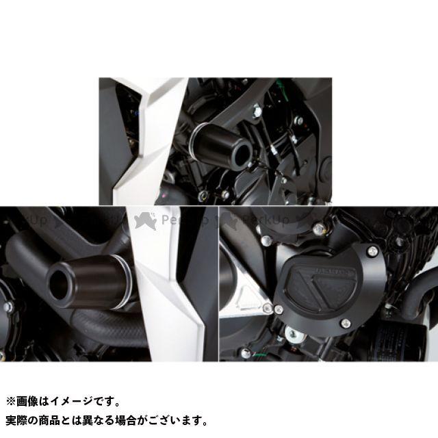 アグラス GSR750 レーシングスライダー 3点SET フレームφ50+スターターB カラー:ジュラコン/ブラック タイプ:ロゴ有 AGRAS