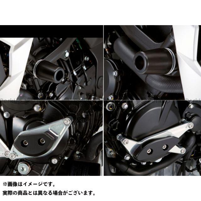 アグラス GSR750 レーシングスライダー 4点SET フレームφ50+スターターA+ジェネレーターA カラー:ジュラコン/ブラック タイプ:ロゴ有 AGRAS