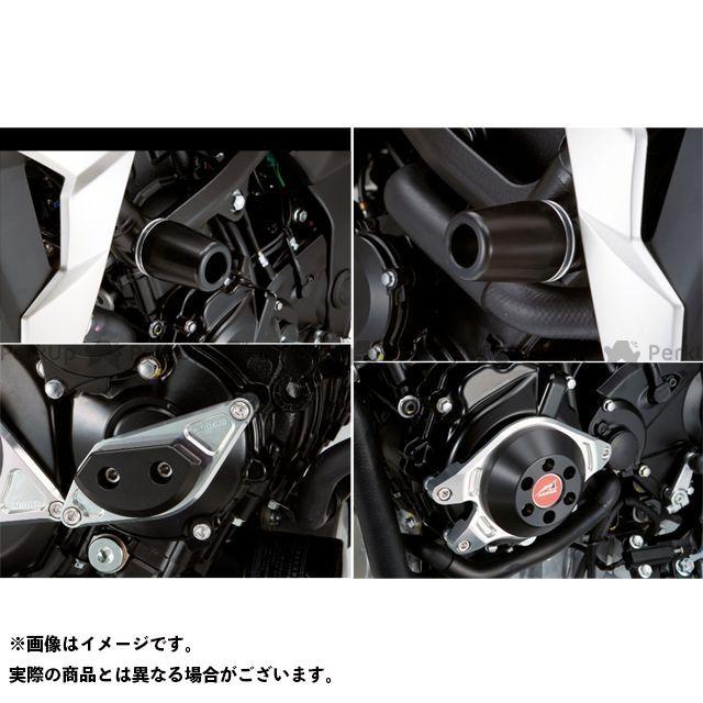 アグラス GSR750 レーシングスライダー 4点SET フレームφ50+スターターA+ジェネレーターC カラー:ジュラコン/ブラック タイプ:ロゴ無 AGRAS
