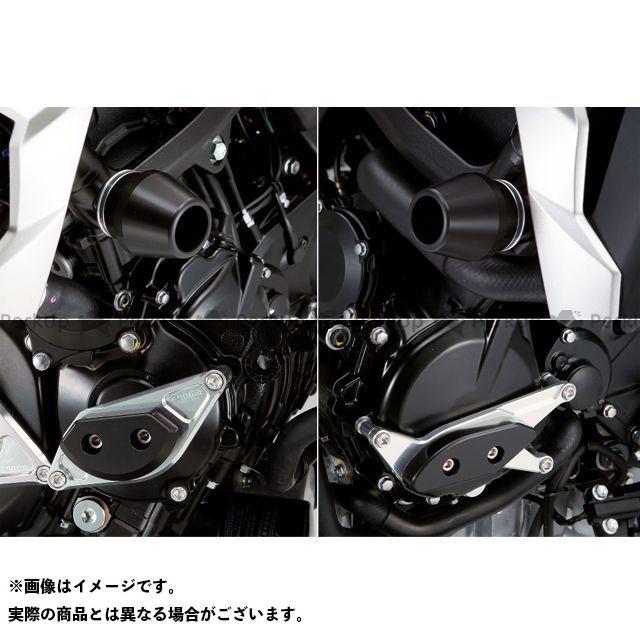 アグラス GSR750 レーシングスライダー 4点SET フレームφ60+スターターA+ジェネレーターA ジュラコン/ホワイト AGRAS