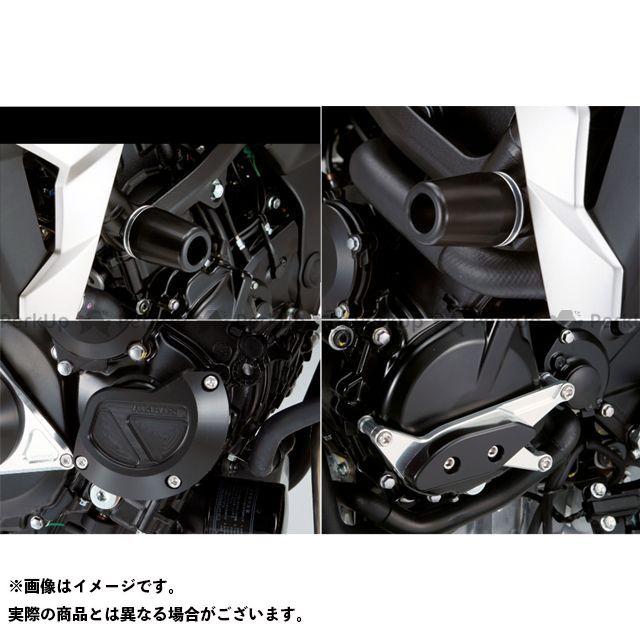 アグラス GSR750 レーシングスライダー 4点SET フレームφ50+スターターB+ジェネレーターA カラー:ジュラコン/ブラック タイプ:ロゴ無 AGRAS