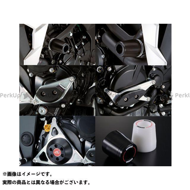 アグラス GSR750 レーシングスライダー 5点SET フレームφ50+スターターA+ジェネレーターA+クラッチ タイプ2 カラー:ジュラコン/ブラック タイプ:ロゴ有 AGRAS