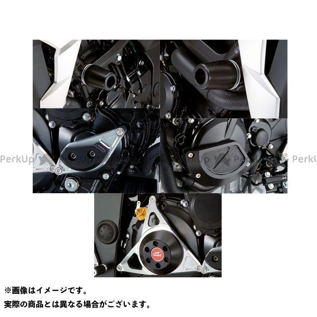 アグラス GSR750 レーシングスライダー 5点SET フレームφ50+スターターA+ジェネレーターB+クラッチ タイプ2 カラー:ジュラコン/ホワイト タイプ:ロゴ無 AGRAS