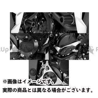アグラス GSR750 レーシングスライダー 5点SET フレームφ50+スターターB+ジェネレーターA+クラッチ タイプ2 カラー:ジュラコン/ホワイト タイプ:ロゴ無 AGRAS