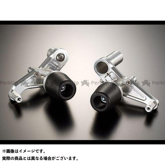 アグラス ニンジャZX-10R スライダー類 レーシングスライダー フレーム ジュラコン/ブラック ロゴ無