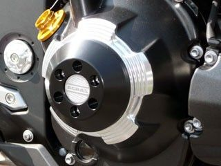 アグラス Z1000 スライダー類 レーシングスライダー ケースカバータイプ ベース:シルバー/ジュラコン:ブラック