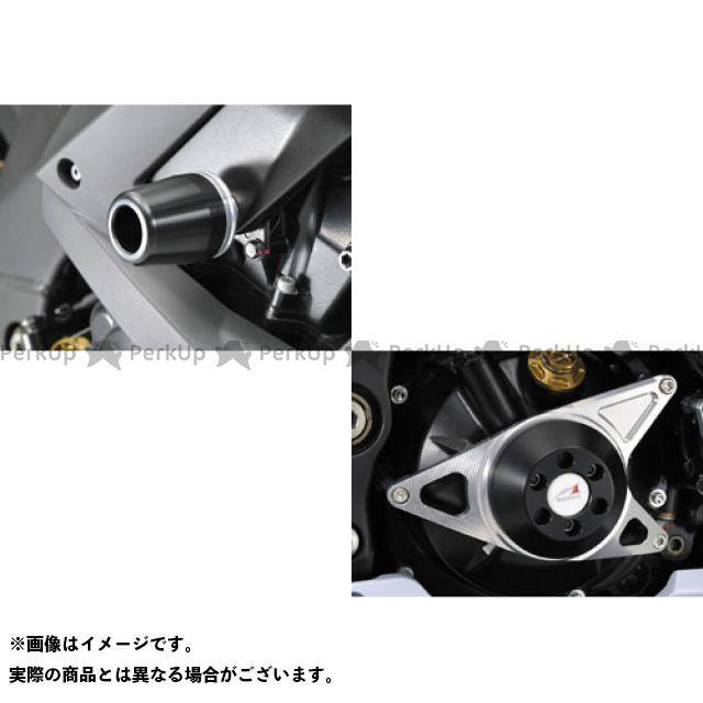 アグラス ニンジャZX-10R レーシングスライダー 3点SET クラッチ カラー:ジュラコン/ホワイト タイプ:ロゴ無 AGRAS