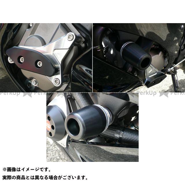 アグラス ニンジャZX-10R レーシングスライダー 3点SET 右A カラー:ジュラコン/ブラック タイプ:ロゴ無 AGRAS