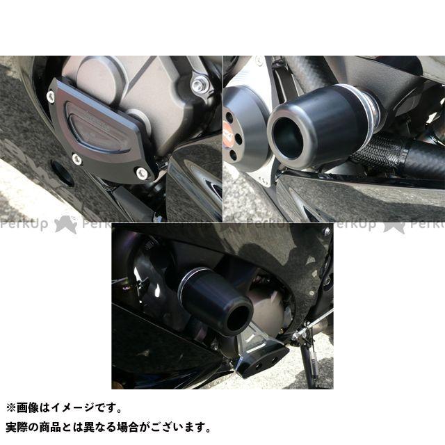 アグラス ニンジャZX-10R レーシングスライダー 3点SET 右B カラー:ジュラコン/ホワイト タイプ:ロゴ無 AGRAS