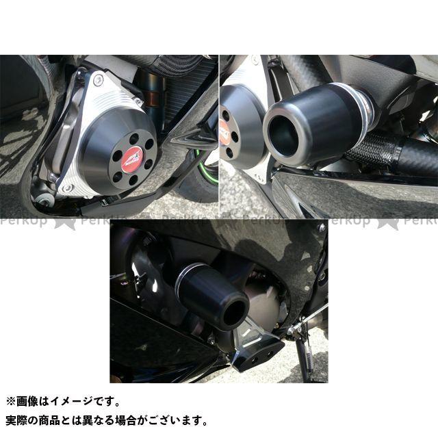 アグラス ニンジャZX-10R レーシングスライダー 3点SET 右C カラー:ジュラコン/ブラック タイプ:ロゴ無 AGRAS