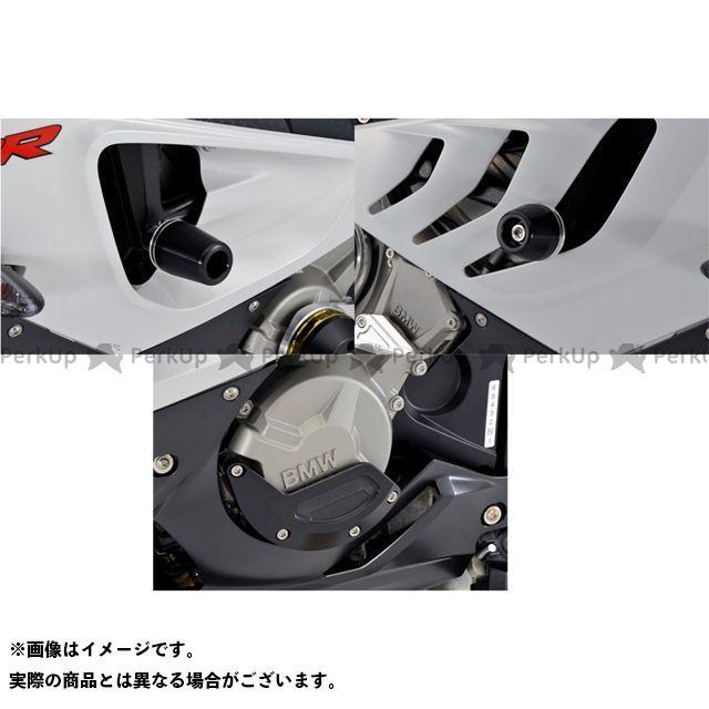 アグラス S1000RR レーシングスライダー 3点SET フレーム+ジェネレーターB カラー:ジュラコン/ホワイト タイプ:ロゴ無 AGRAS