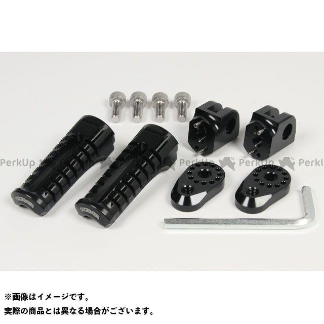 【エントリーで更にP5倍】SP武川 アジャスタブルステップキット KAWASAKI用 カラー:ブラック TAKEGAWA