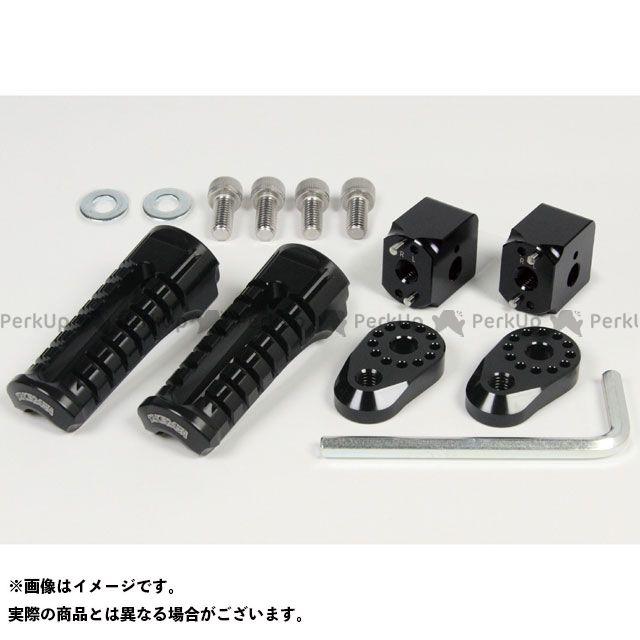 【エントリーで更にP5倍】SP武川 KSR110 アジャスタブルステップキット カラー:ブラック TAKEGAWA