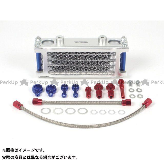 SP武川 グロム オイルクーラー コンパクトクールキット(4FIN/スリムライン/エアフィルター装着車用)