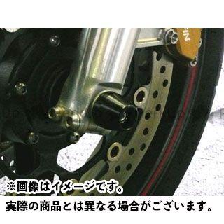 アグラス CB1300スーパーフォア(CB1300SF) その他サスペンションパーツ フロントアクスルプロテクター アルミ シルバー
