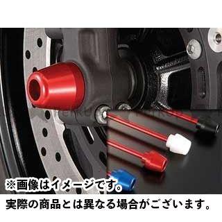 アグラス GSX-R1000 GSX-R600 GSX-R750 その他サスペンションパーツ フロントアクスルプロテクター コーンタイプ アルミ シルバー