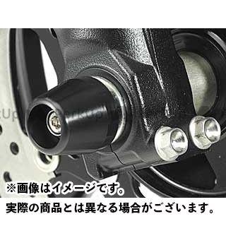 アグラス バンディット1250 バンディット1250F その他サスペンションパーツ フロントアクスルプロテクターコーンタイプ アルミ レッド