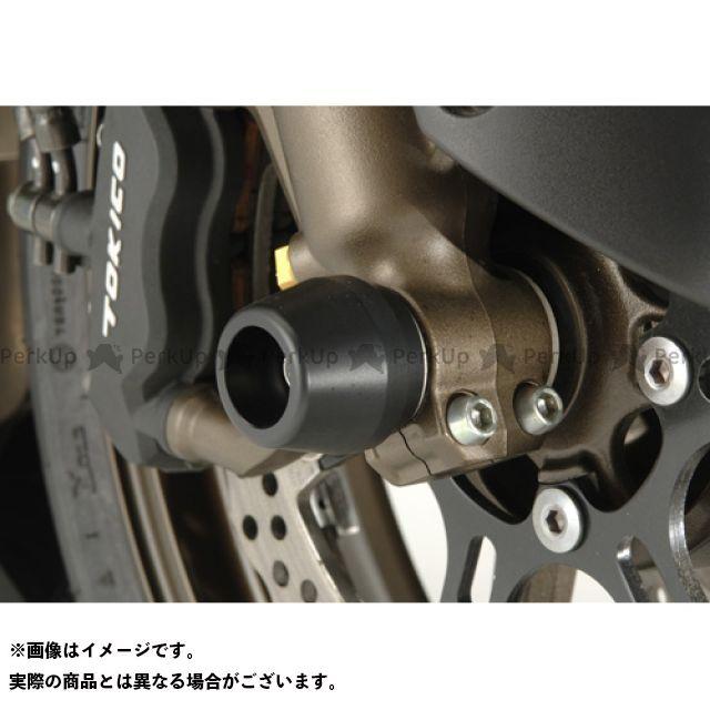 アグラス ニンジャZX-10R フロントアクスルプロテクター コーンタイプ ジュラコン(R)製 カラー:ブラック AGRAS