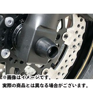 アグラス ZRX1200ダエグ その他サスペンションパーツ フロントアクスルプロテクター コーンタイプ アルミ レッド