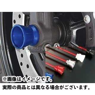 アグラス GSX1400 その他サスペンションパーツ フロントアクスルプロテクター ファンネルタイプ ジュラコン ブラック
