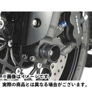 アグラス GSX-R1000 その他サスペンションパーツ フロントアクスルプロテクター ファンネルタイプ ジュラコン ホワイト