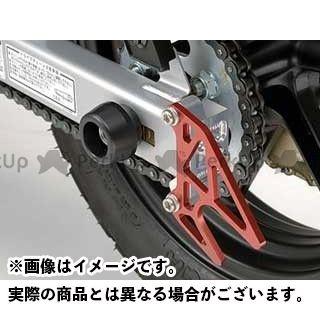 アグラス XR100モタード その他サスペンションパーツ リアアクスルプロテクター ジュラコン製 ブラック