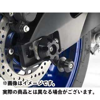 アグラス GSX-R600 その他サスペンションパーツ リアアクスルプロテクター ジュラコン製(ブラック)