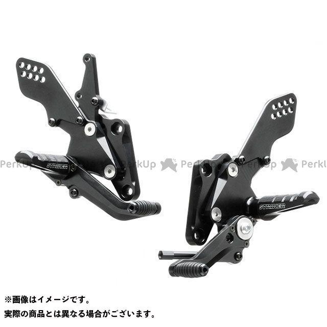ストライカー 隼 ハヤブサ バックステップ関連パーツ スポーツツーリングコンセプト ステップキット(ブラック)